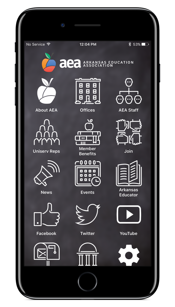 Arkansas Education Association Mobile App