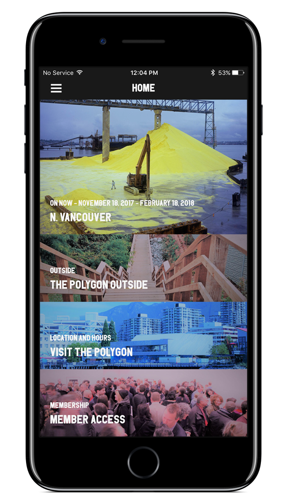 Polygon Gallery Mobile app