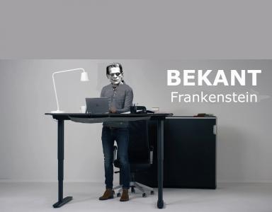 IKEA Bekant Frankenstein