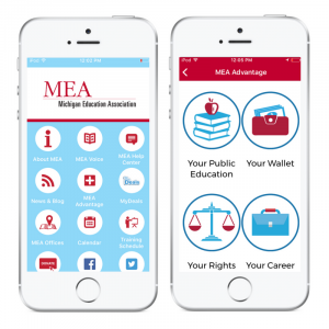 Michian education association app