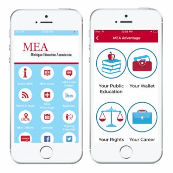 Michian education association app