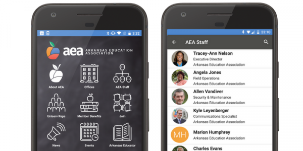 arkansas association mobile app