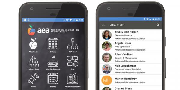 arkansas association mobile app