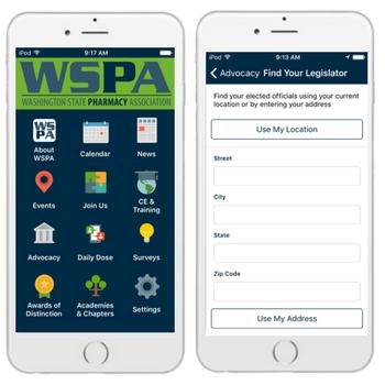 WSPA mobile app