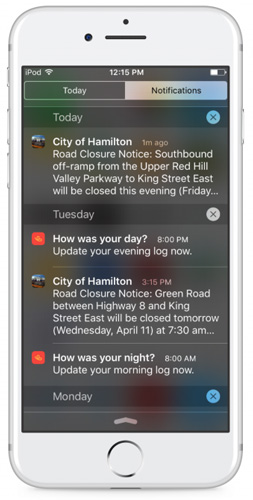 emergency notification mobile app