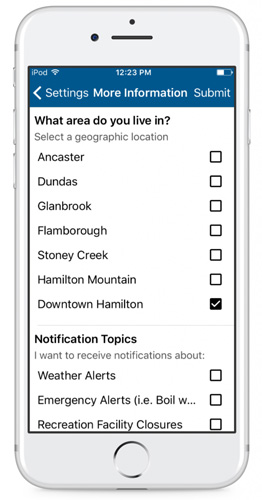 personalized mobile app