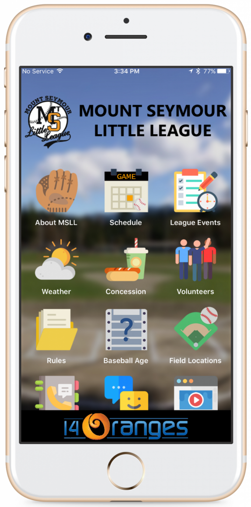 mount seymour baseball mobile app