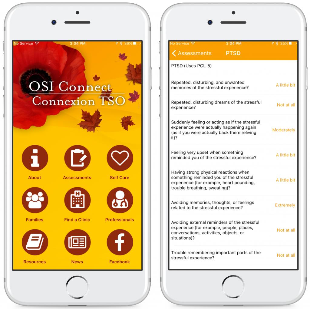 Royal Ottawa OSI Connect Mobile App