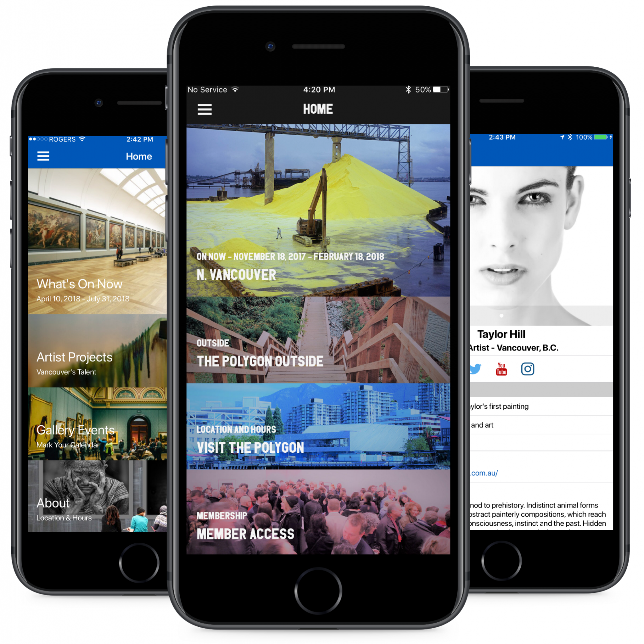 gallery mobile apps
