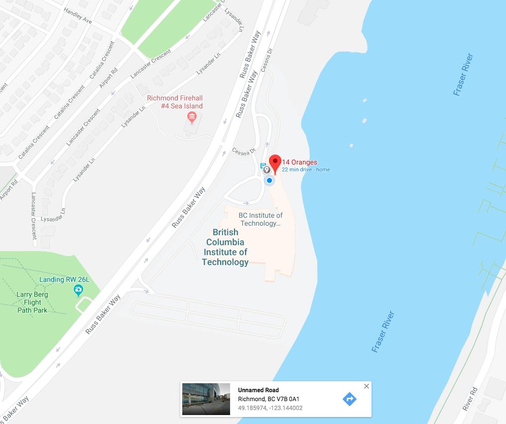 google maps geo-fence