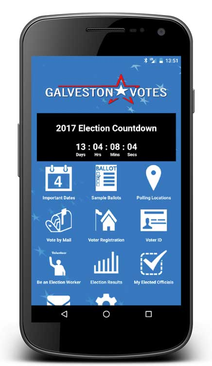 galveston county mobile app