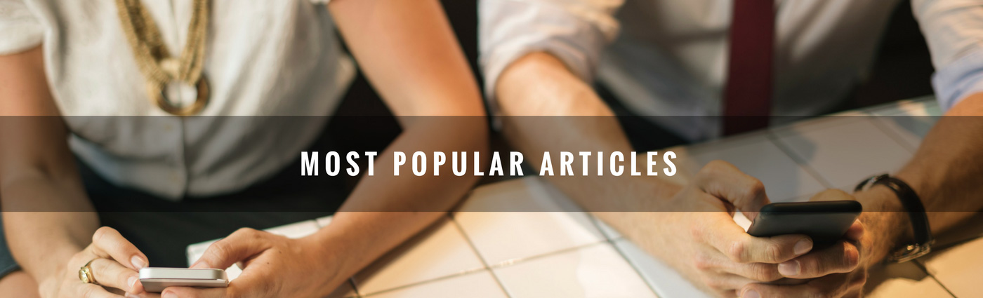 Most popular blogs