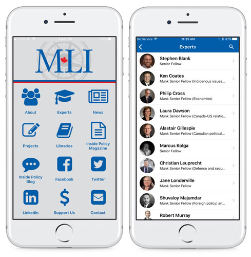 Macdonald laurier mobile app