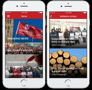 Unifor Mobile App