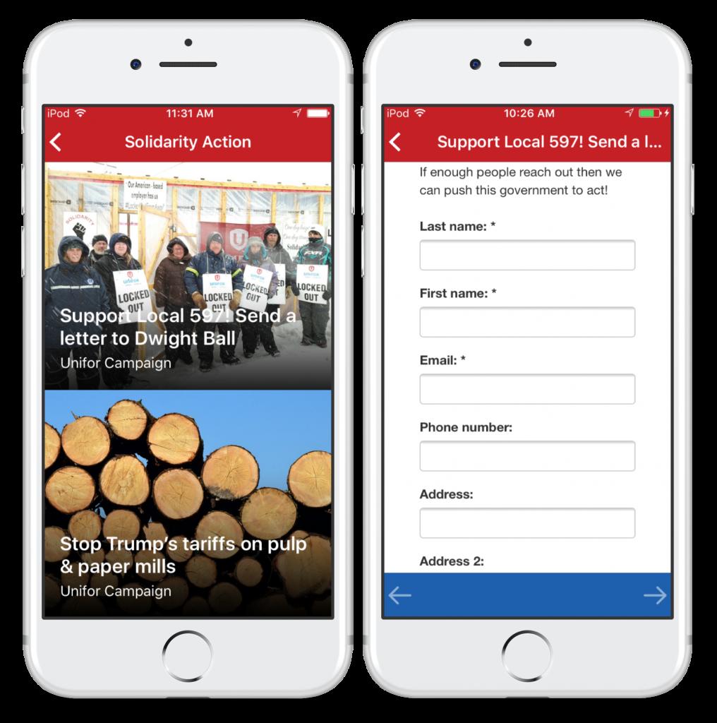 mobile advocacy campaigns