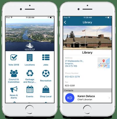 Arnprior city app