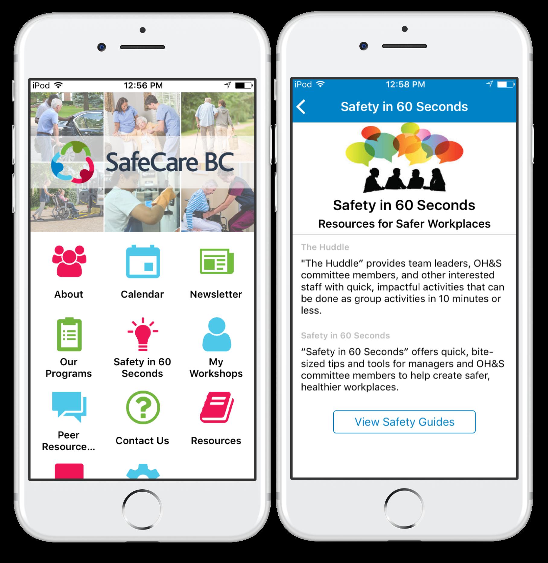 mobile app Info Grove