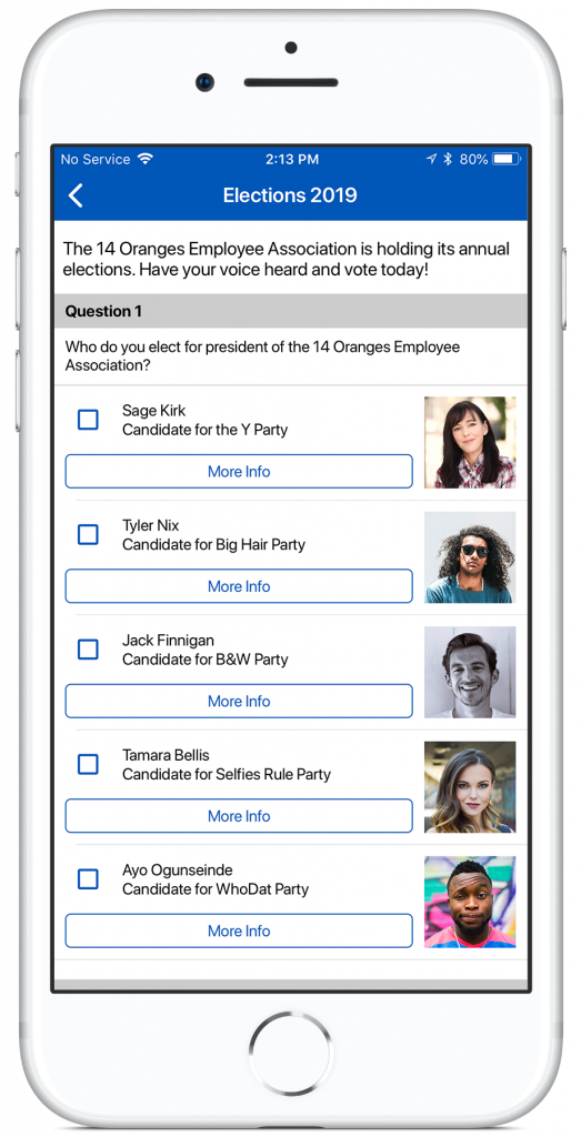 Info Grove framework mob app