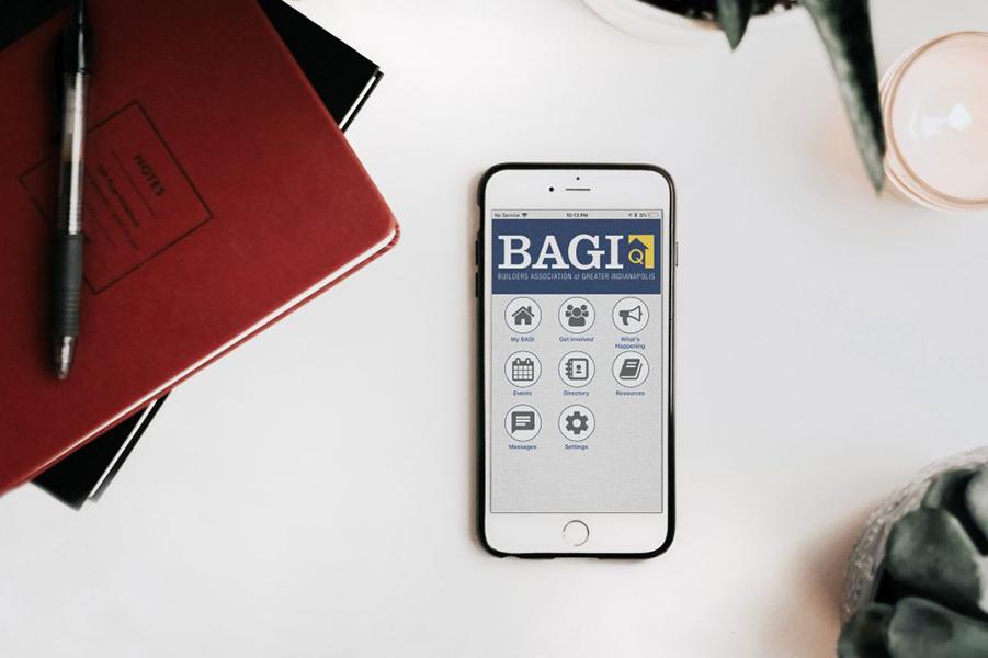 BAGI mobile app