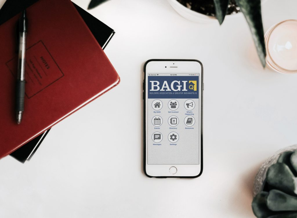 Bagi mobile application from 14 Oranges