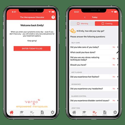 14 Oranges - Vergo Mobile App Screenshots