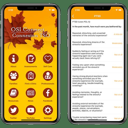 14 Oranges - OSI Clinic Mobile App Screenshots