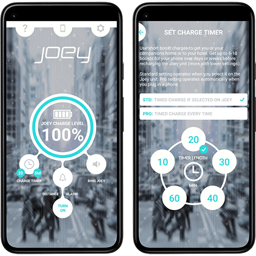 14 Oranges - Joey Energy Mobile App Screenshots